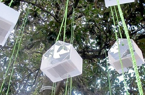 Suspended library
